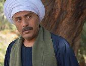 """شاهد.. محمود عبد المغنى فى كواليس """"بنت القبائل"""" وحالة عشق مع حنان مطاوع"""