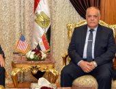 رئيس العربية للتصنيع يبحث مع سفير واشنطن بالقاهرة مجالات جديدة للتعاون