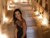عارضة أزياء إسبانية بعد زيارتها لمصر: سقارة المفضلة لدى.. وتصفها بالمدهشة