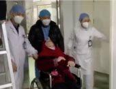 فيديو.. شفاء مسنة بمدينة ووهان الصينية من فيروس كورونا