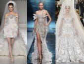 اختارى فستان فرحك على آخر موضة من فساتين زفاف أسبوع الموضة بباريس