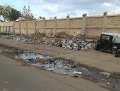 قارئ يشكو من انتشار القمامة بشارع شكرى القوتلى بحى منتزه ثان بالإسكندرية