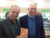 """وزير التعليم الأسبق يوقع """"ملك التنشين"""" بمعرض الكتاب"""