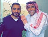 """الممثل السعودى فايز المالكى يعلن مشاركته فى فيلم """"مش انا"""".. وتامر حسنى يرحب به"""