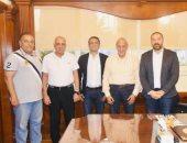 نجوم الرياضة والاعلام وهشام عباس في حفل افتتاح بطولة الصيد للناشئين برعاية zed