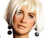 """الروبوت صوفيا تسأل جمهورها عن أرائهم بعد """"نيولوك"""" لها بالشعر الأصفر.. صور"""