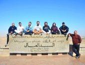 شباب المصريين بإستراليا من أسوان: نعتز بوطننا وسنحكى كل ما شاهدناه إلى أصدقائنا