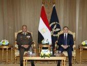 وزير الداخلية خلال لقاء الفريق وزير الدفاع: القوات المسلحة والشرطة جناحا أمن مصر