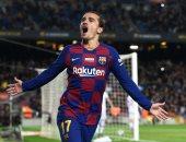 جريزمان يرتدى القميص رقم 7 مع برشلونة فى الموسم المقبل
