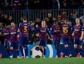"""برشلونة ضد ليجانيس.. البارسا يتفوق بثنائية فرنسية فى الشوط الأول """"فيديو"""""""