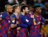 كل اهداف مباريات الخميس.. ميسى يقود برشلونة لربع نهائي كاس اسبانيا
