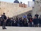مستوطنون يقتحمون المسجد الأقصى وسط حماية شرطة الاحتلال