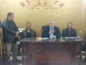 مؤتمر جماهيرى بمدينة أشمون لبحث مشكلات المواطنين (صور)