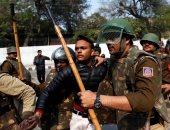 5 قتلى و90 مصابا بأحداث العنف فى العاصمة الهندية