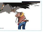 كاريكاتير صحيفة الرأى الأردنية ينتقد خطة ترامب للسلام