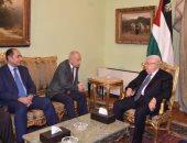 """أبو الغيط لـ """" أبو مازن """" : القرار الفلسطينى له ظهير عربى ولن نتخلى"""
