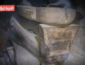 فيديو معلوماتى.. مخزن أثرى جديد بسقارة يبوح بـ24 مومياء وتابوت نادر
