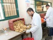 صور.. وزير الزراعة يفتتح وحدة رصد مشروع مكافحة العفن البني فى البطاطس
