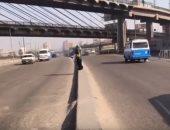 فيديو.. اعرف حركة المرور فى صلاح سالم بمدينة نصر
