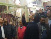 فيديو وصور.. وزير السياحة يتفقد أعمال ترميم كنيسة ودير السيدة العذراء بالمنيا
