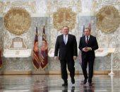 بومبيو يصل مينسك فى مسعى لتحسين العلاقات بين الولايات المتحدة وبيلاروسيا