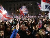 شاهد.. احتفال البريطانيين بلحظة خروج بلدهم رسميا من الاتحاد الأوروبى