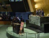 الأمم المتحدة تحتفى بمسيرة وانجازات السلطان الراحل قابوس خلال جلسة تأبينه