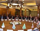إجتماع وزراء الخارجية العرب بالجامعة العربية لمناقشة خطة السلام الأمريكية