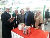 الشاعر اللبنانى شربل داغر يوقع أعماله الشعرية الكاملة بمعرض الكتاب.. صور