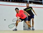 كريم عبد الجواد يتأهل إلى نصف نهائي بطولة إيدينبرج للاسكواش