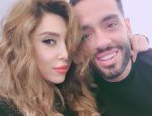 زوجة رامى جمال: ربنا يرزقنى بنونو حلو زيك.. والمطرب: بنتخانق فى اليوم 3 مرات
