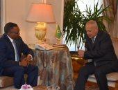 أبو الغيط يستقبل وزير الدولة بوزارة الخارجية السودانية