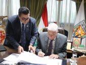 محافظ جنوب سيناء يعتمد نتيجة الشهادة الإعدادية نسبة النجاح 87.47٪