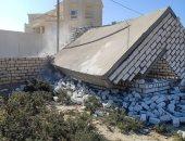 صور.. ضبط 7 حالات بناء مخالف بالإسكندرية والأحياء تنفذ قرارات الهدم