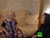 شاهد.. الشرطة الروسية تنجح فى لمّ شمل شقيقتين بعد 78 عاما من الفراق