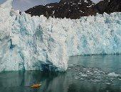 شاهد.. لحظة انهيار جليدى ضخم فى القارة القطبية الجنوبية