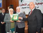 إنطلاق فعاليات الاحتفال بيوم الوفاء والجزاء بهندسة المنوفية بحضور وزيرة التضامن