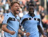 لاتسيو يرتقى لوصافة الدوري الايطالي وفيرونا يوقف انتصارات ميلان.. فيديو