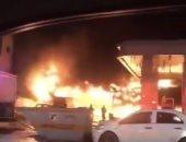 إصابة شخصان إثر انفجار أسطوانة بوتجاز داخل شقة بالهرم
