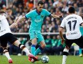 برشلونة ضد ليفانتى.. ميسي وجريزمان يقودان البارسا