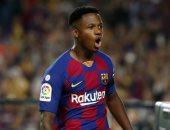 """برشلونة ضد ليفانتى.. فاتى يتقدم للبارسا بهدفين فى دقيقتين """"فيديو"""""""