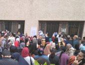 صور.. طوابير الطلاب للتظلم على نتيجة الشهادة الاعدادية بالإسكندرية