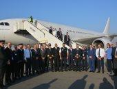 وزيرة الصحة: طائرة المصريين العائدين من ووهان الصينية تصل العلمين بعد ساعة