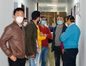 المنطقة الاقتصادية تتابع الإجراءات الوقائية للعاملين بالمنطقة الصناعية الصينية