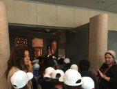 المتحف القومى للحضارة المصرية يستقبل طلاب مدرستين بالقاهرة