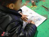 لعب وكتب ورسم للأطفال فى معرض القاهرة الدولى للكتاب.. صور