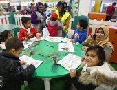 لعب وكتب ورسم للأطفال فى معرض القاهرة الدولى للكتاب