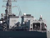 """فيديو.. """"تاكانامى"""" مدمرة يابانية تبحر إلى خليج عمان لحماية السفن التجارية"""