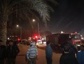 السيطرة على حريق بمصنع بخور فى مدينة 15 مايو دون إصابات
