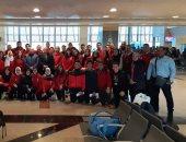 بعئة الكاراتيه تغادر إلى المغرب للمشاركة فى البطولة الأفريقية